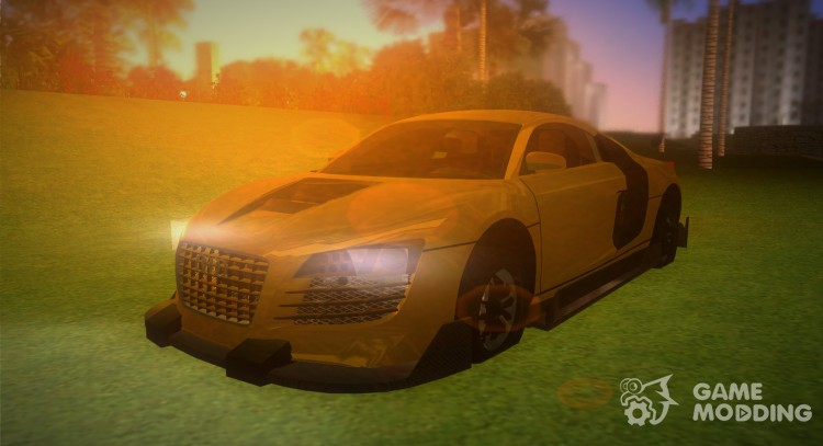 Audi Le Mans Tuning v. 2 for GTA Vice City