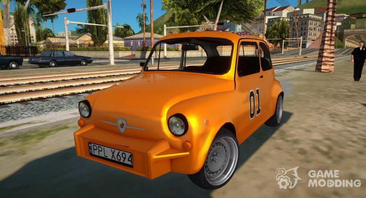 Abarth Zastava 850 General Lee for GTA San Andreas