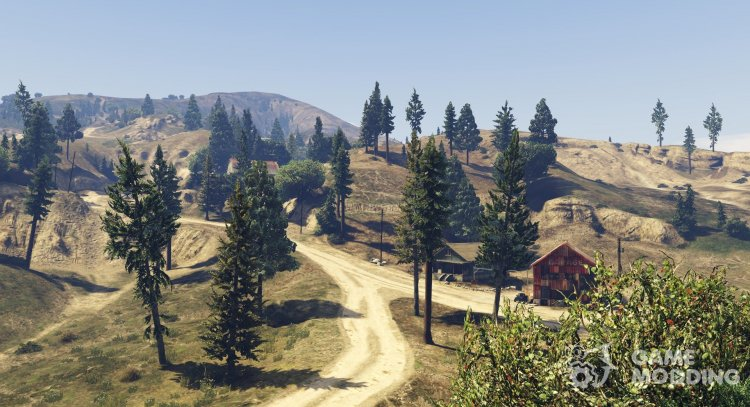 Beta Vegetation and Props 7.4 for GTA 5