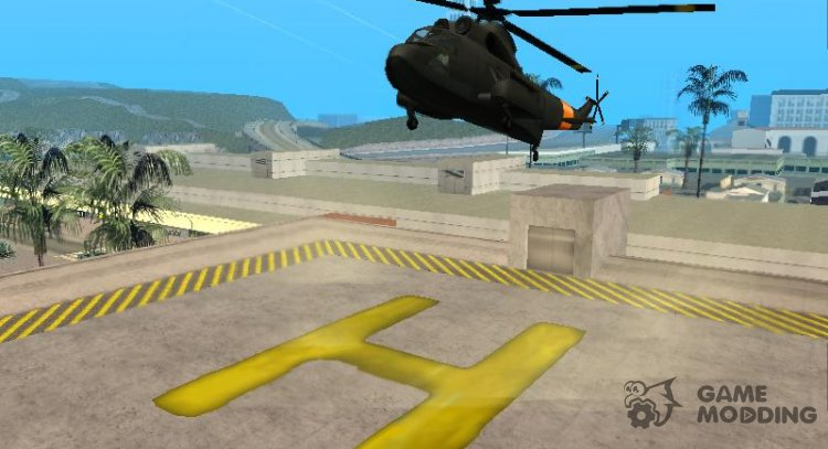 Horizontal flight for helicopters for GTA San Andreas