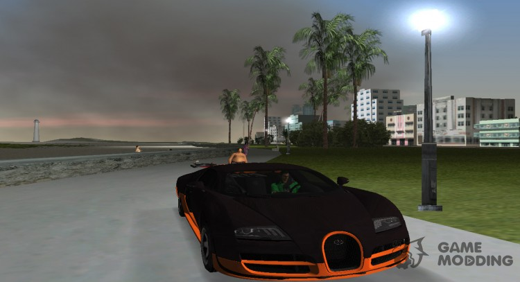 Bugatti Veyron Super Sport 2011 for GTA Vice City