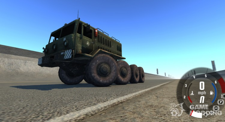 MAZ-535 for BeamNG.Drive