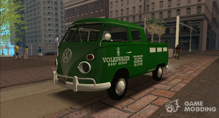 Volkswagen Type 2 Kombi 1500 Pick-Up 1972 for GTA San Andreas