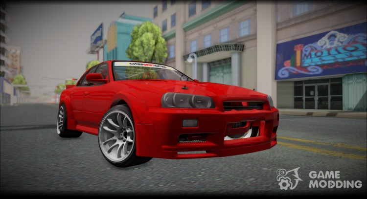 Nissan Skyline E-Ecr33 for GTA San Andreas