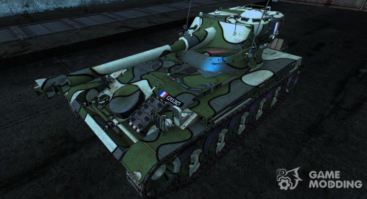 Skin for AMX 13 75 No. 30 for World Of Tanks