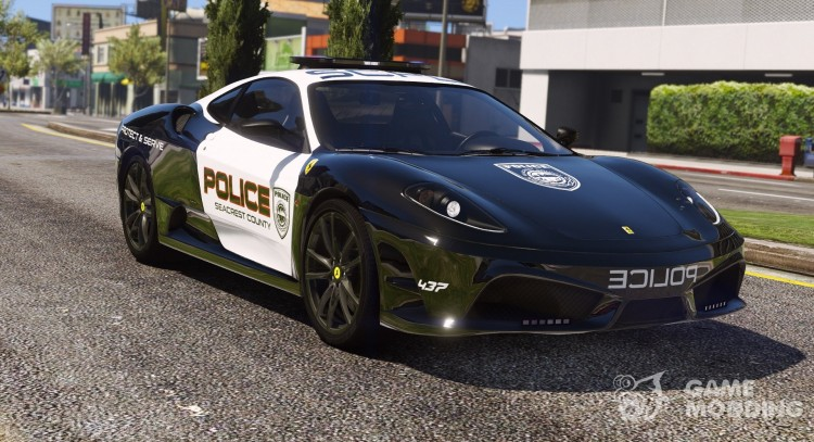 Ferrari F430 Scuderia Hot Pursuit Police для GTA 5