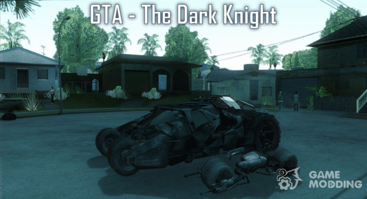 The Dark Knight mod (Темный рыцарь) для GTA San Andreas
