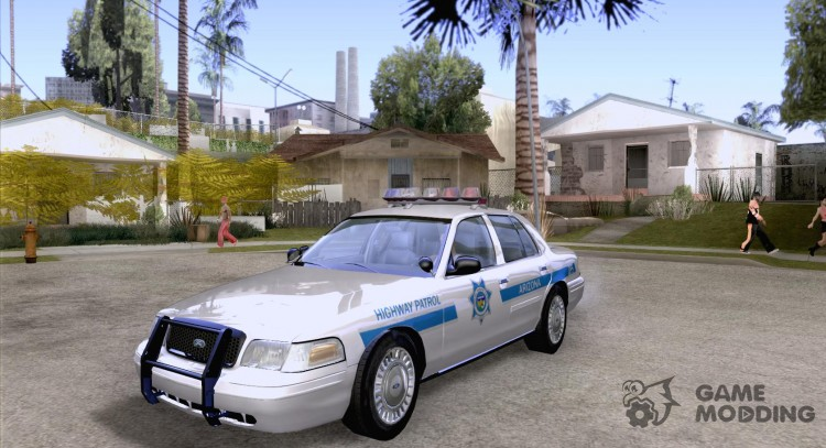 Ford Crown Victoria Arizona Police for GTA San Andreas