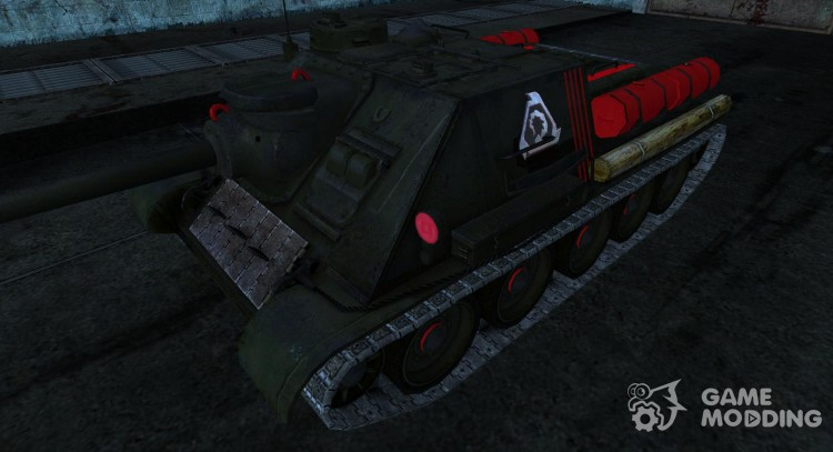 Skin for Su-100 for World Of Tanks
