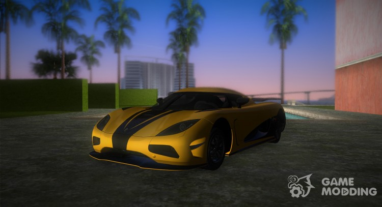 Koenigsegg Agera R 2013 for GTA Vice City