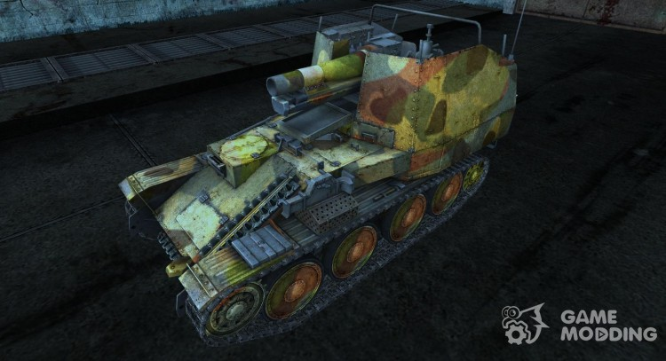 Sandpaper for Grille for World Of Tanks