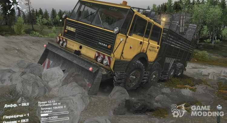 Tatra 813 Kolos Kings Off-Road 1.2 for Spintires 2014