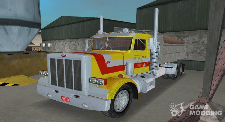 Peterbilt 359 Dumper for GTA Vice City