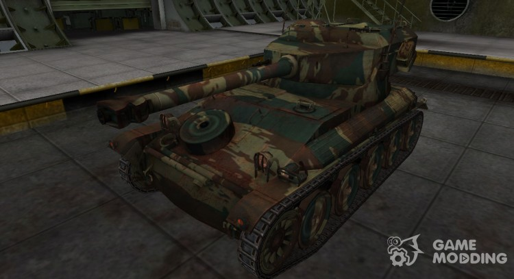 French new skin for AMX 12t for World Of Tanks
