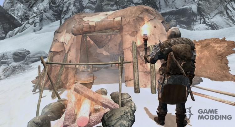 Frost-salvation in the camp for TES V: Skyrim