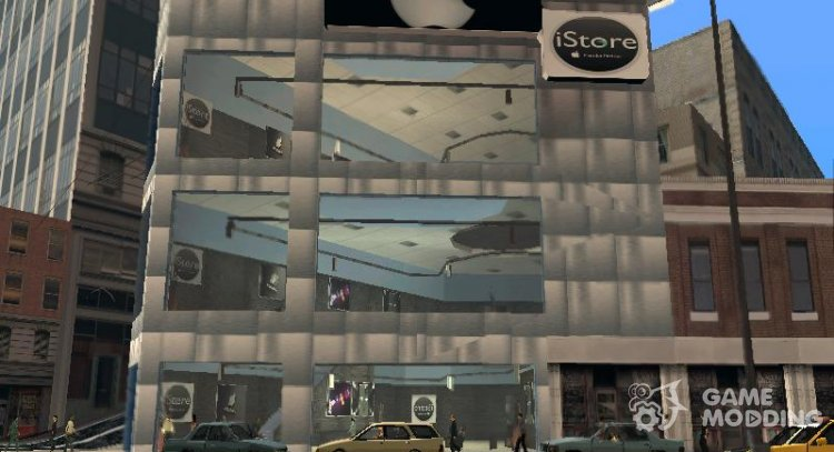 Apple Store for GTA San Andreas