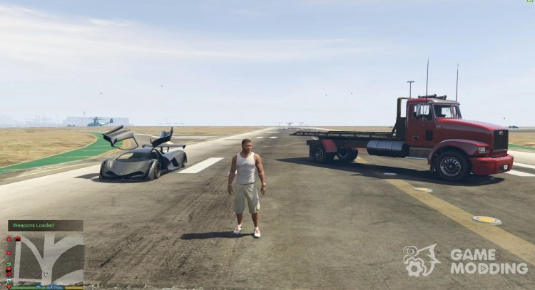 Working Flatbed 1.0 for GTA 5