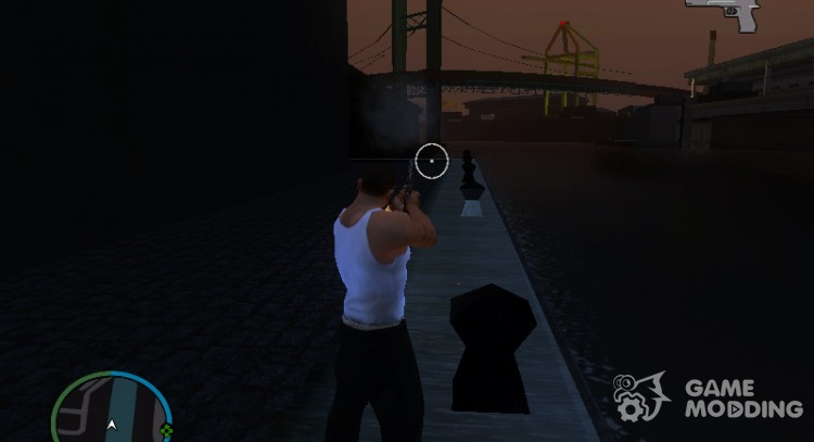 Shooting without reloading for GTA San Andreas