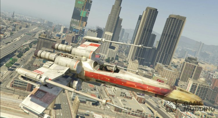 X-Wing Hydra Hybrid 1.1 for GTA 5
