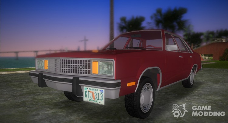 Ford Fairmont (4 door) 1978 for GTA Vice City