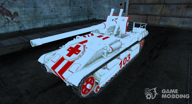 Skin for Su-8 Ambulance for World Of Tanks