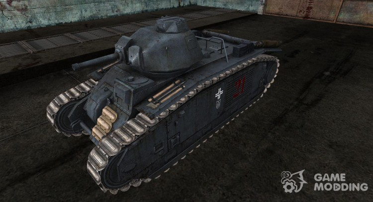 Skins for Panzer B2 740 (f) for World Of Tanks