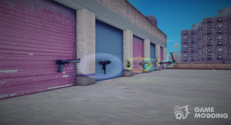 Weapons from Postal 2 Complete for GTA 3
