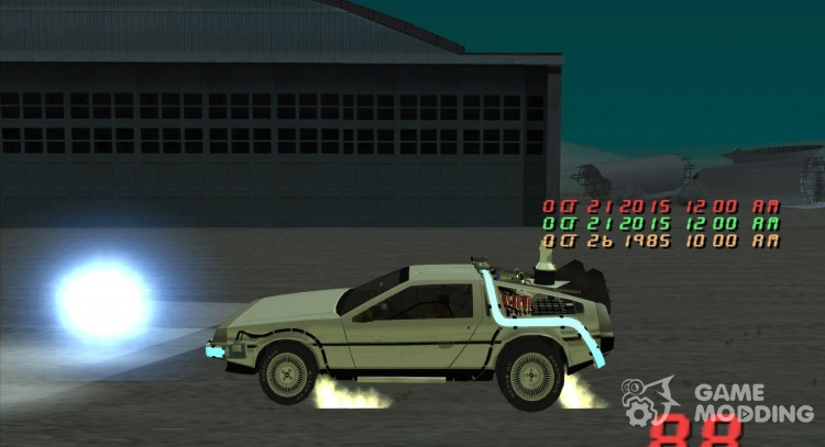 Back to the future for GTA San Andreas