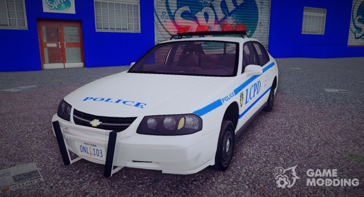 Chevrolet Impala Liberty City Police Department for GTA 3