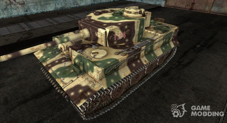The Panzer VI Tiger Stromberg for World Of Tanks