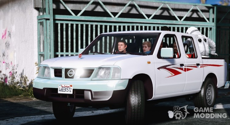 Nissan Double Cab Ddsen for GTA 5