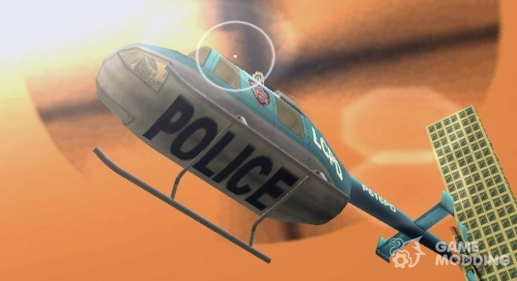 GTA LCS Police Maverick for GTA 3