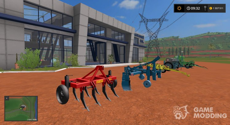 Pak field equipment v07.09.18 for Farming Simulator 2017