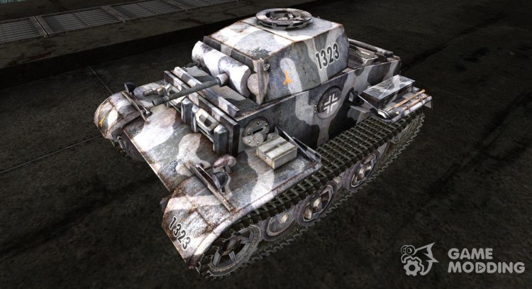 The Panzer II Skin for Later. (J) for World Of Tanks