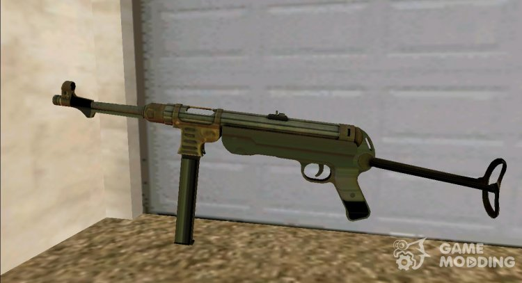 MP 40 for GTA San Andreas