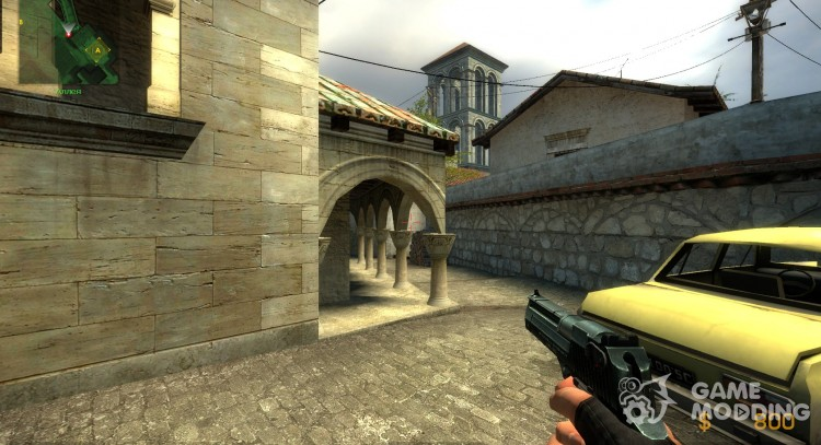 Carbon Grip Deagle for Counter-Strike Source