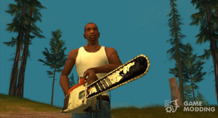 HQ Chainsaw (With Original HD Icon) for GTA San Andreas