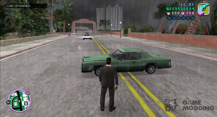 Random Cars for GTA Vice City