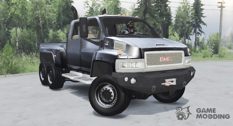 GMC TopKick C4500 6x6 for Spintires 2014