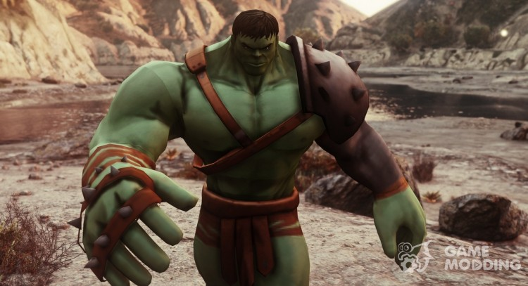 Gladiator Hulk (Planet Hulk) 2.1 for GTA 5