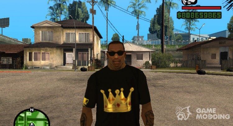 T-shirt for moderator Crow for GTA San Andreas