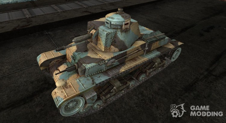 Colored skins for Panzer 35 (t) for World Of Tanks