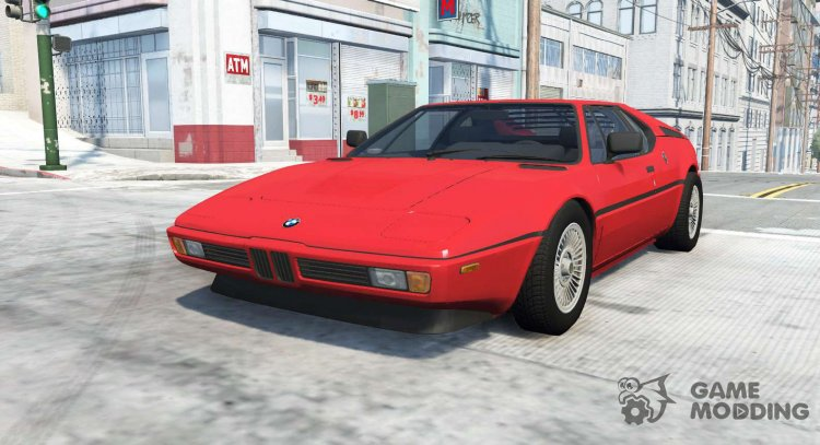 BMW M1 (E26) 1978 for BeamNG.Drive