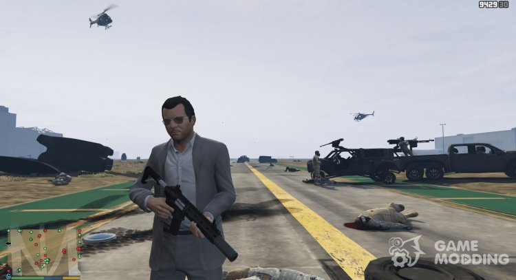 Active enemies hordes (warzone) 1.2.2 for GTA 5