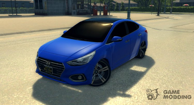 Hyundai Solaris for Mafia II