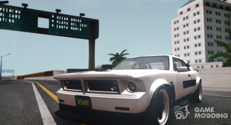GTA V Declasse Tampa Evo for GTA San Andreas