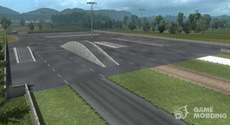 Test site for Euro Truck Simulator 2