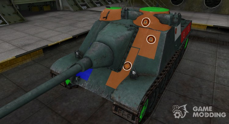 High-quality skin for AMX AC Mle. 1946 for World Of Tanks