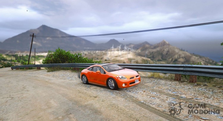 Mitsubishi Eclipse 2006 for GTA 5