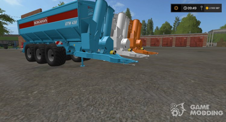 Bergmann GTW 430 v1.0 Multicolor for Farming Simulator 2017